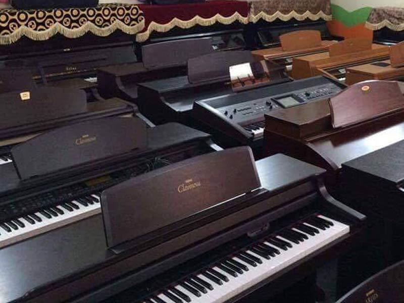 Đàn piano điện clavinova Yamaha và các dòng piano điện khác