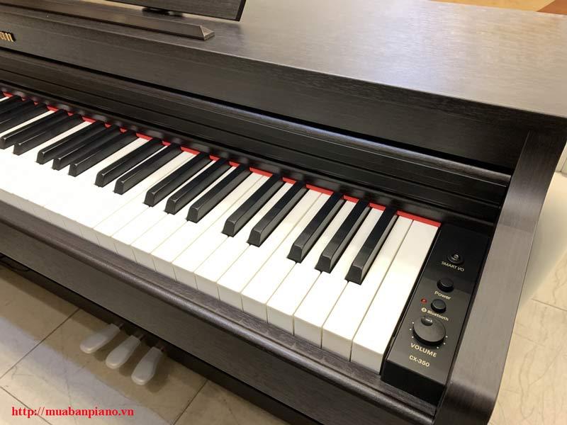 Hệ thống bàn phím và chức năng đàn Bowman CX - 350