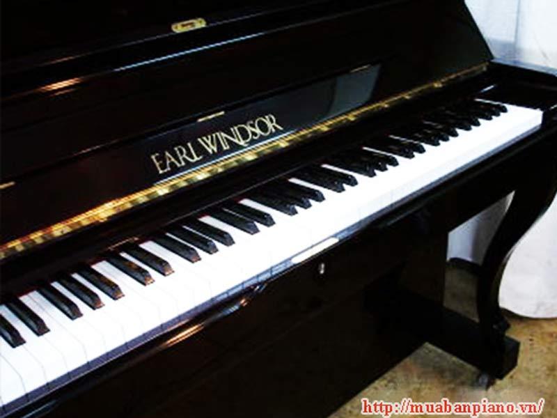 Mẫu Bàn phím đàn piano Earl Windsor
