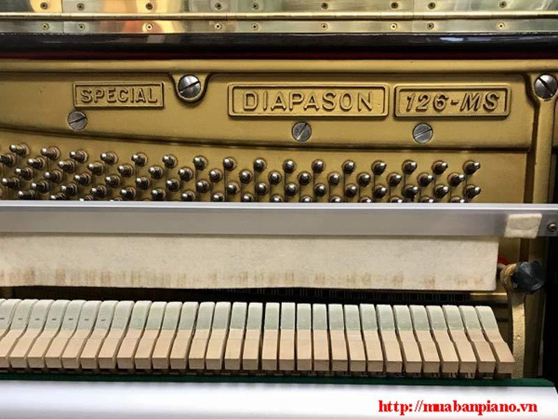 các bộ phận đàn piano Diapason