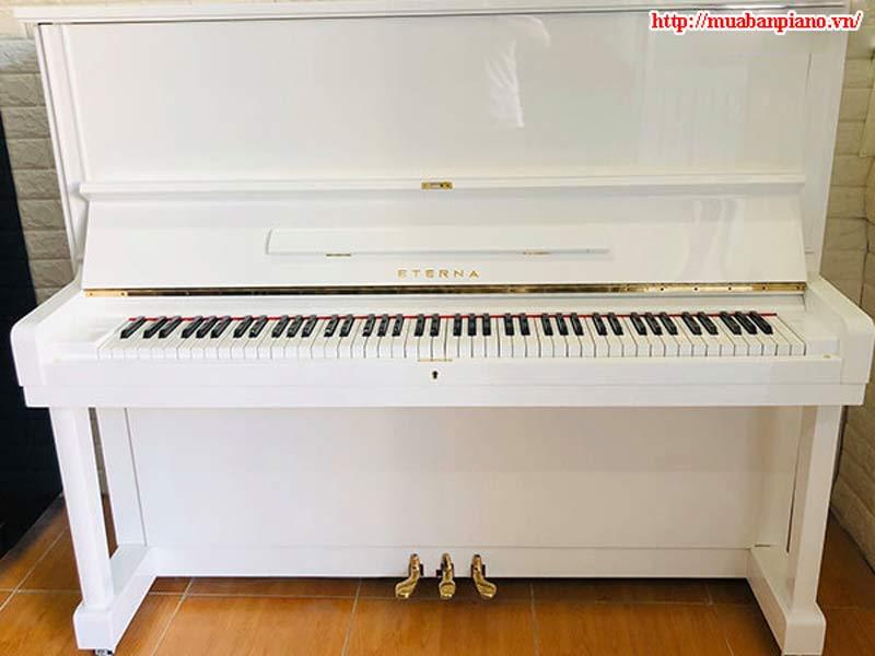 Đàn Piano Eterna trắng